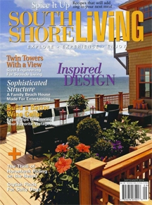 New home designed by Heidi Condon featured in September 2010 issue of South Shore Living magazine. (click for article)